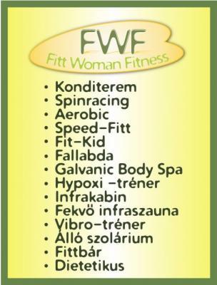 Fitt Woman Fitness Kecskemét