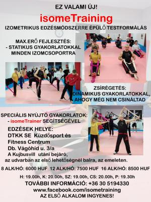 IsomeTraining Flexibilis Debrecen Füredi utca